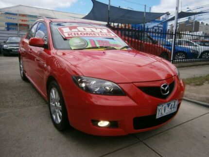 2007 Mazda 3 BK MY06 Upgrade Maxx Sport Red 4 Speed Auto Activematic Sedan Preston Darebin Area Preview