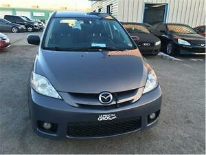 2006 Mazda 5 GT, TT EQUIPEE, TOIT OUVRANT, AC, MAGS, 7 PASSAGER