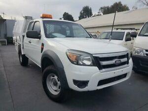 2011 Ford Ranger PK XL (4x2) White 5 Speed Manual Super Cab Chassis Canley Vale Fairfield Area Preview