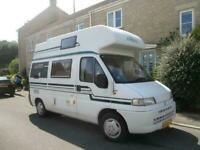 Auto Trail BADGER 4 BERTH, HIGH TOP MOTORHOME / CAMPERVAN FOR SALE