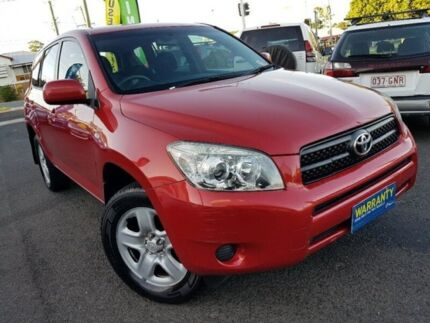2008 Toyota RAV4 ACA33R MY09 CV Red 5 Speed Manual Wagon Greenslopes Brisbane South West Preview