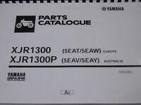 Yamaha Xjr 1300 1300p Parts List Manual Catalogue 1300 P 5eat 5eaw 5eav 5eay - yamaha - ebay.co.uk
