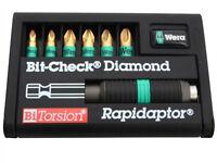 Bit- Check BiTorsion Diamond Coated Pozi set of 7