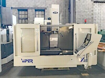 Mighty Viper Cnc Vertical Mill 50 X 25 Cnc Machining Center Fanuc 18i Cnc 2004