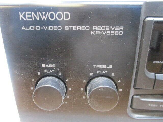 Kenwood Audio Video KR-V5560 AM FM Dolby Pro Logic Stereo Receiver