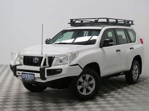 2012 Toyota Landcruiser Prado KDJ150R 11 Upgrade GX (4x4) White 6 Speed Manual Wagon Jandakot Cockburn Area Preview