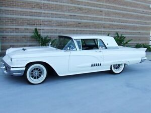 1958 Ford Thunderbird White MX AUTOMATIC Hardtop Coupe Capalaba Brisbane South East Preview