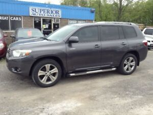 2009 Toyota Highlander Sport Fully Certified! Carproof Verified!