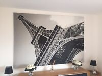 Large Canvas / Picture of Eiffel tower