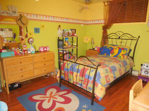 Décoration et literie chambre d'enfant (fille)
