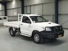 2009 Toyota Hilux KUN26R 08 Upgrade SR (4x4) Glacier White 5 Speed Manual Tabletop Dubbo 2830 Dubbo Area Preview