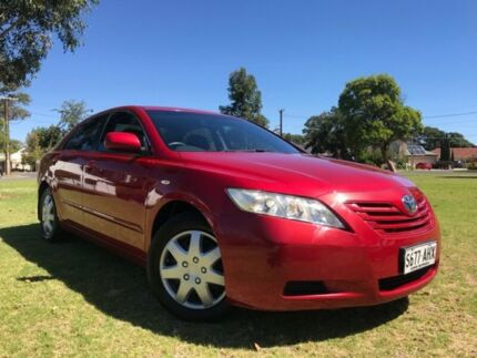 2007 Toyota Camry ACV40R Altise Red 5 Speed Automatic Sedan Somerton Park Holdfast Bay Preview