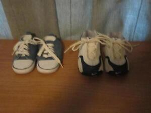 Baby's Nike Sneaker & shoes with laces white/ blue