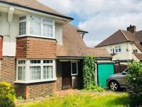 3 Bedroom Semi-Detached House with Driveway and Garage Situated In Shirley Croydon