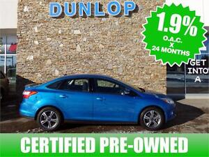 2014 FORD FOCUS ***Certified Pre-Owned** 1.9% low financing!