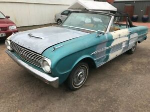 1963 Ford Falcon FUTURA Blue 3 Speed Automatic Convertible Woodville Park Charles Sturt Area Preview