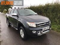 2014 14 FORD RANGER LIMITED 4X4 DCB TDCI DIESEL