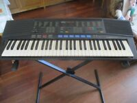 Yamaha PSR47 Electric Keyboard c/w Folding Stand