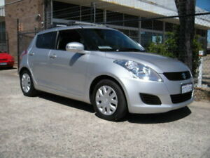 2012 Suzuki Swift FZ GL Silver 4 Speed Automatic Hatchback Wangara Wanneroo Area Preview