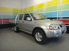 2012 Nissan Navara D22 Series 5 ST-R (4x4) Lightning Silver 5 Speed Manual Wangara Wanneroo Area Preview