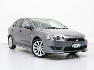 2010 Mitsubishi Lancer CJ MY10 VR-X Grey 6 Speed CVT Auto Sequential Sedan Jandakot Cockburn Area Preview