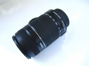 Zoom Canon EF-S 55-250mm IS II Image Stabilizer Macro