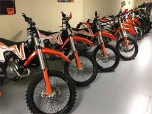 2017 KTM 450, 350, 250 - EXC-F, SX-F, XC-F - SELECTION!! SALE