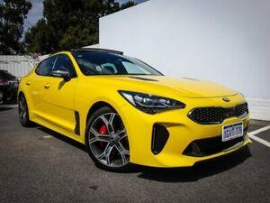 2018 Kia Stinger CK MY19 GT Fastback Yellow 8 Speed Sports Automatic Sedan Maddington Gosnells Area Preview