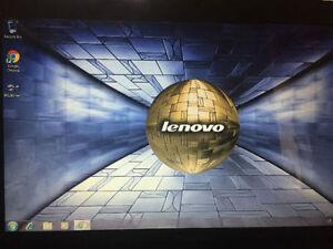 Lenovo laptop  w/ 320 gb hard drive, 3gb ram , windows 7