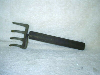 Vintage Anitque Cultivator Rake Hand Tool 10 1/2