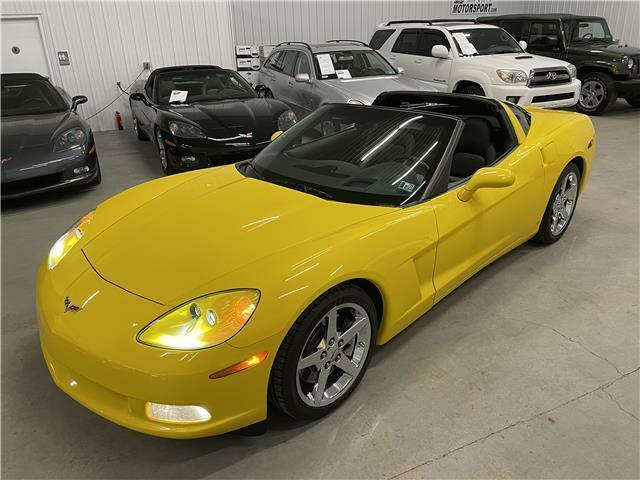 2007 Yellow Chevrolet Corvette Coupe 3LT | C6 Corvette Photo 1