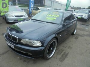 2000 BMW 330Ci E46 Navy Blue 5 Speed Auto Steptronic Coupe Punchbowl Canterbury Area Preview