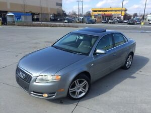 2007 AUDI A4 2.0T QUATTRO *6 SPEED,LEATHER,SUNROOF,LOADED!!!*