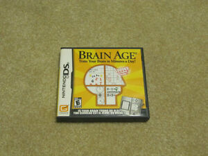 Nintendo DS Game – Brain Age (Almost New)