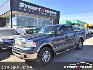 2006 Ford F-150 Lariat w/ AWD, SUNROOF, TOW HITCH, HEATED SEATS