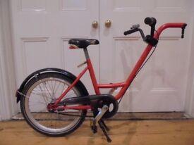 Roland Add+Bike trailer bike - the best type, 3-speed, with 2 extra racks