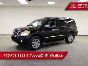 2011 Nissan Armada PLATINUM; AWD, NAV, SUNROOF, LEATHER, 7 PASSE