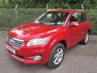 Toyota Rav-4 2.2 XT-R D-4D Turbo Diesel 4x4 5DR (red) 2011