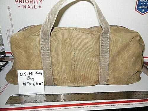 Vintage US MILITARY CANVAS TOOL BAG MECHANIC , FLIGHT , UNCLEANED AS FOUND-USA
