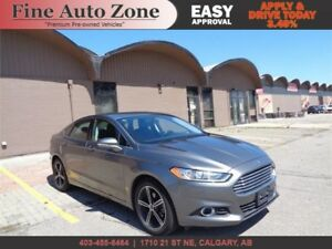 2014 Ford FusionSE EcoBoost Leather Navi B.Cam Bluetooth H.Seats