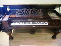 Antique Square Grand Piano