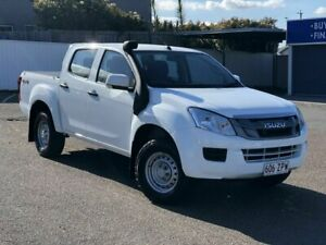 2014 Isuzu D-MAX MY15 SX Crew Cab White 5 Speed Sports Automatic Utility Chermside Brisbane North East Preview