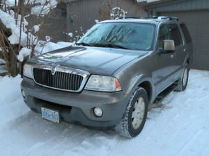 2004 Lincoln Aviator Ultimate SUV, Crossover