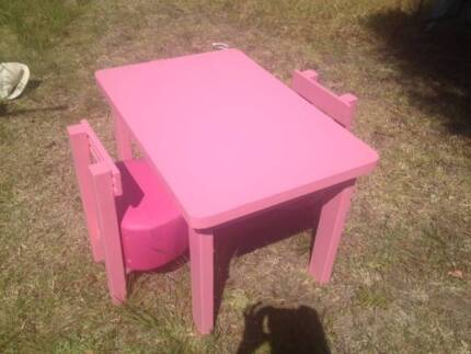 Pink Loveheart chairs and table Uralla Uralla Area Preview