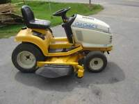 CUB CADET LAWN TRACTOR,AND BLOWER ATTACH.