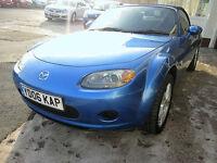 Mazda MX-5 1.8i Cabriolet 2dr **STUNNING AZURE BLUE***FULL SERVICE HISTORY***