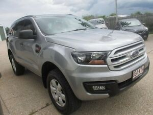2015 Ford Everest UA Ambiente 4WD Silver 6 Speed Sports Automatic Wagon Mackay Mackay City Preview