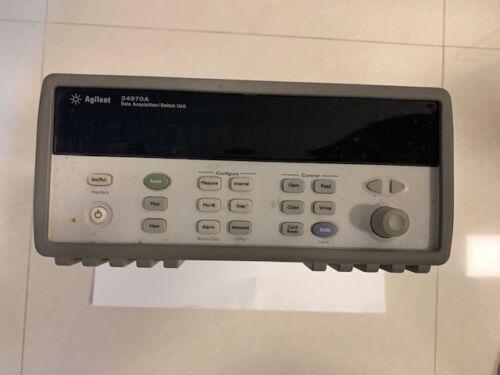 Agilent 34970A Data Acquisition / Data Logger Switch Unit with option 001