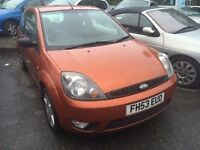 2004 Ford Fiesta diesel, starts and drives very well, 1 years MOT (runs out May 2016), car located i