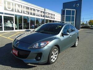 2012 Mazda Mazda3 LEATHER AND SUNROOF LOADED!!**LOWEST PRICE!!**